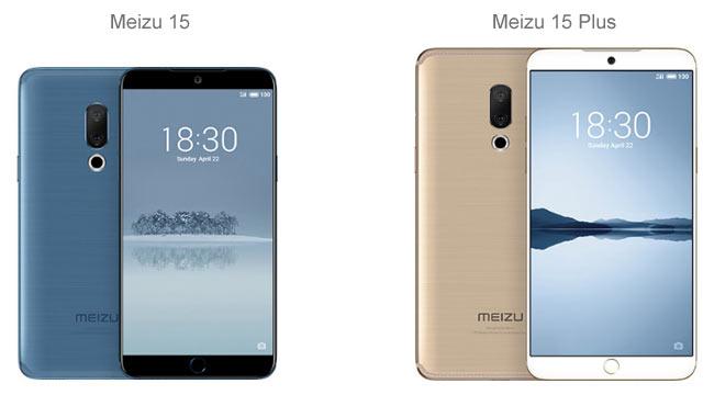 Meizu 15 и Meizu 15 Plus