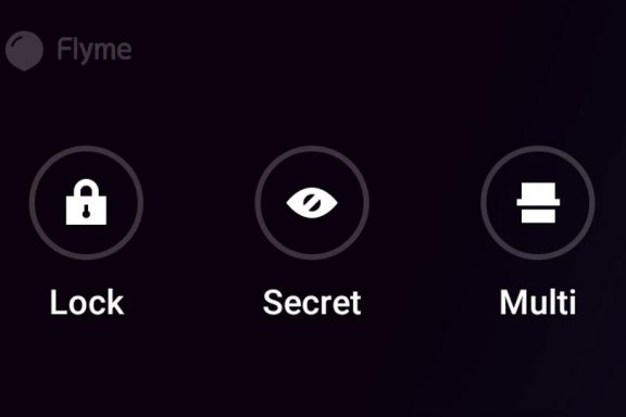 Flyme Features - Lock, Secret and Multi