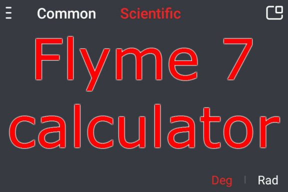 Flyme 7 Calculator