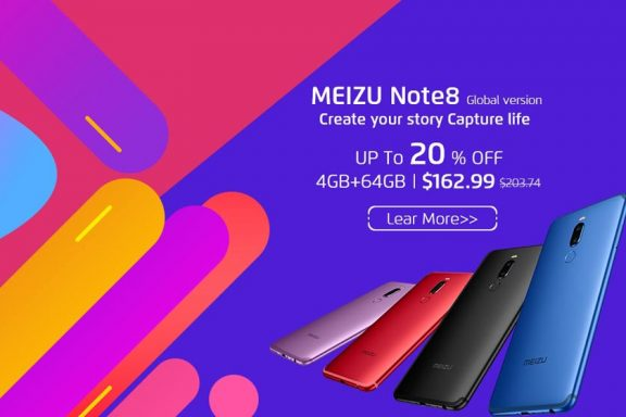 Promotion in the Meizu official store on Aliexpress and presentation soon of the Meizu 16s series