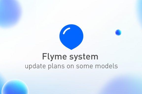 Flyme system update plan for some models