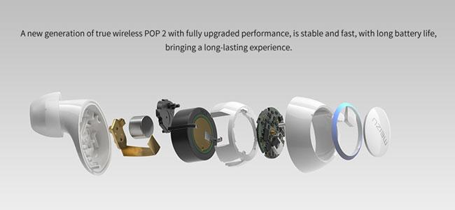 Meizu POP2 Bluetooth Earbuds