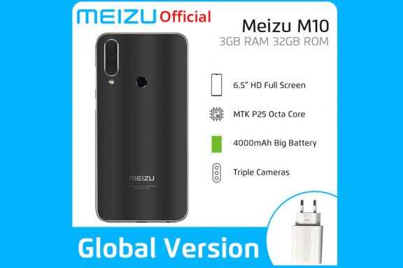 Meizu M10 with large screen and battery, triple camera and pure Android