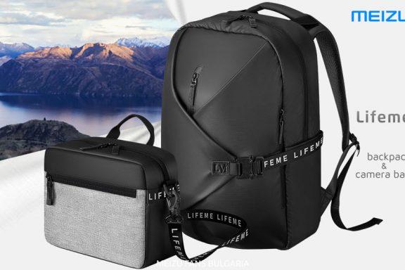 Meizu Lifeme backpack and camera bag