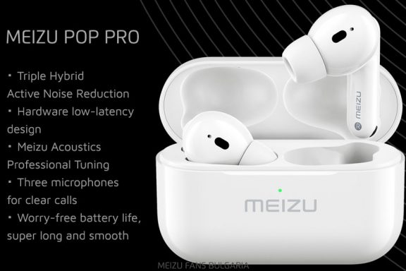 Meizu POP Pro: TWS earphones with active noise reduction