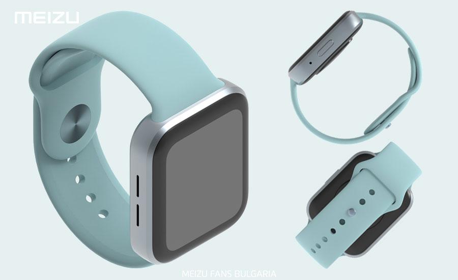 Meizu Smart Watch appearance patent exposure