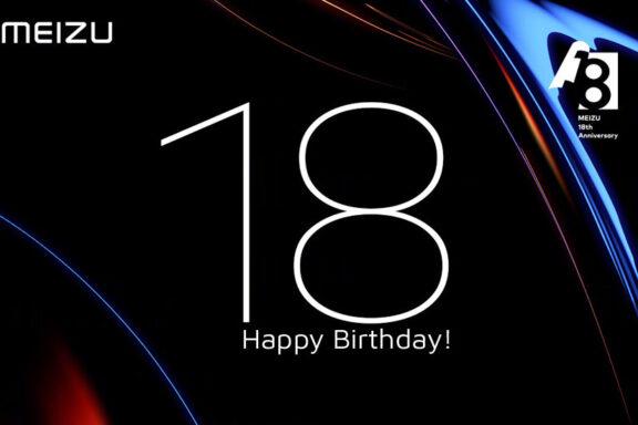 Meizu's 18th anniversary