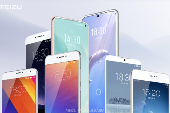 The white front panel of smartphones is in Meizu's genes