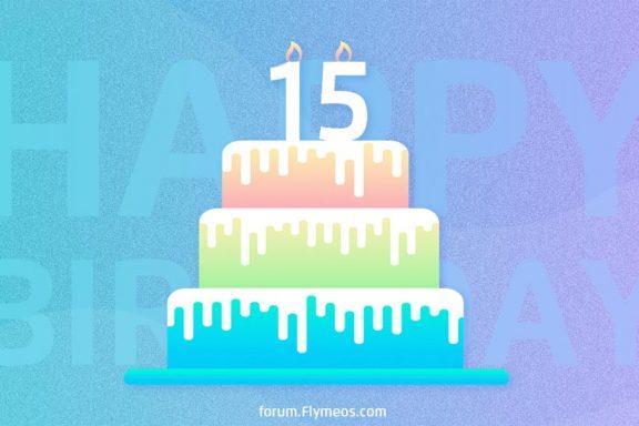 Meizu's 15th Anniversary