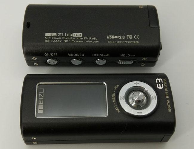 Meizu E3 МР3 плейър