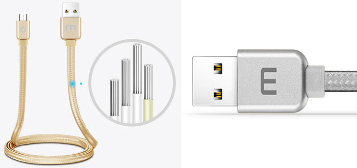Meizu Micro USB Metal Data Cable