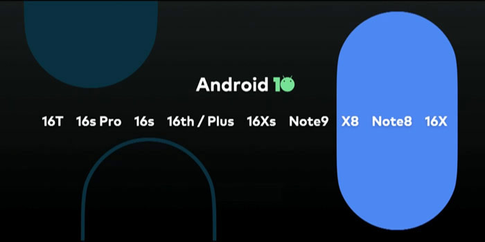 Meizu models Android 10