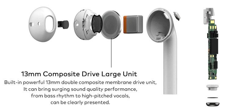 MEIZU Buds (ENC) TWS слушалки