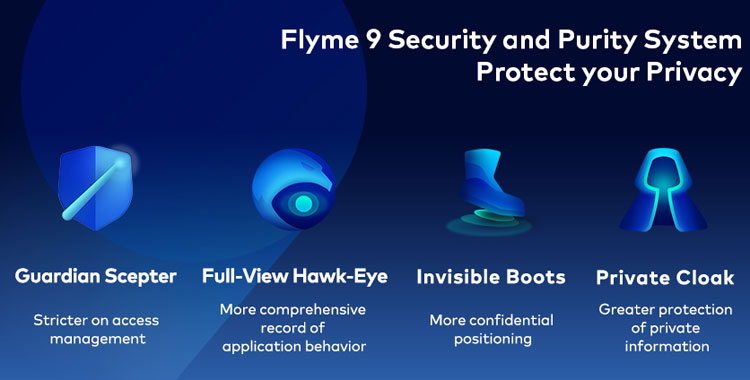 Flyme 9 privacy